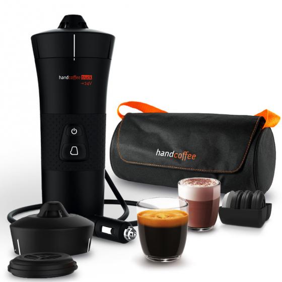 handcoffee truck travel pack 24v kaffeemaschine f r lkw. Black Bedroom Furniture Sets. Home Design Ideas
