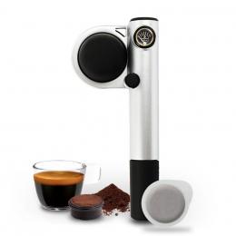 Machine expresso manuelle Handpresso Pump argent - Handpresso