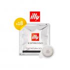 Illy espresso tostatura scura 18 cialde - Handpresso