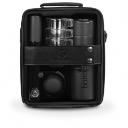 Machine expresso manuelle coffret Handpresso Pump set noir- Handpresso