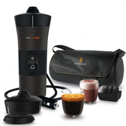 Handcoffee Auto Travel Pack 12v coffee maker for the car - Handpresso