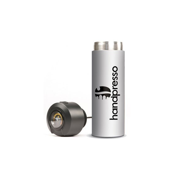 White thermo-flask with built-in thermometer - Handpresso