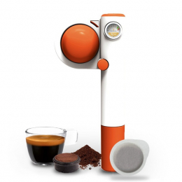 Handpresso Pump Pop Orange, tragbare Espressomaschine – Handpresso