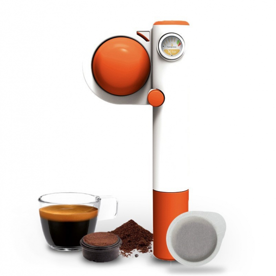 Handpresso Pump Pop orange manual espresso machine - Handpresso