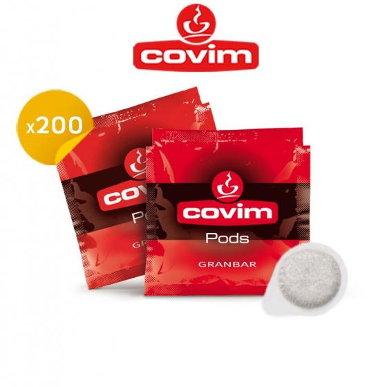Covim ESE espresso pods Granbar box of 200 - Handpresso