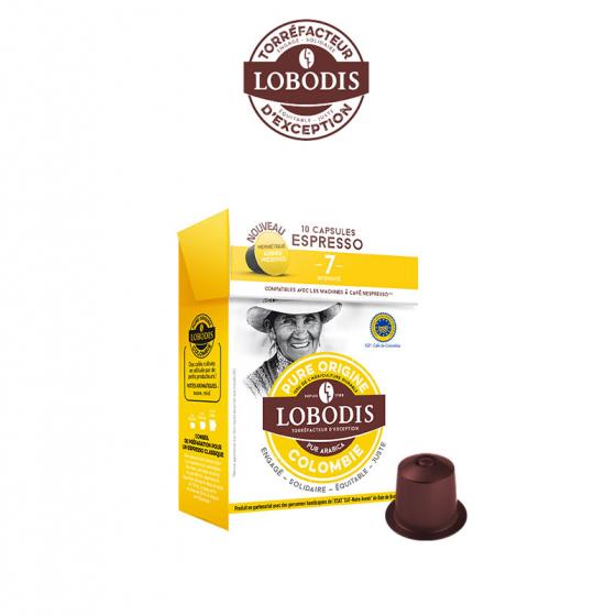 Lobodis Colombia x10 cápsulas - Handpresso