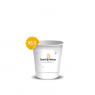 50Pappbecher für Handpresso Auto und Handpresso Pump– Handpresso